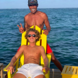 Yannick Noah et son fils Joalukas sur Instagram, juillet 2019.