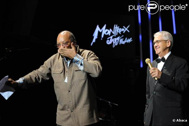 Quincy Jones au festival de Montreux 2009