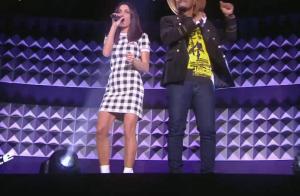 Jenifer sensuelle dans The Voice Kids : prix de sa minirobe à carreaux