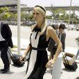 Paris Hilton devant le tribunal de Miami, le 8 juillet 2009