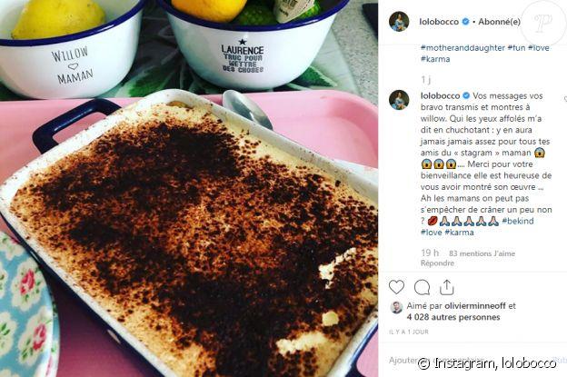 Instagram Laurence Boccolini le 23 septembre 2019