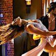 """Anthony Colette et Iris Mittenaere dans la saison 9 de """"Danse avec les stars"""", diffusée en 2018 sur TF1."""