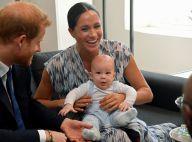 Meghan Markle et Harry : Apparition surprise de leur petit Archie en Afrique !