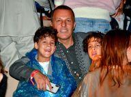 Jean-Roch et ses jumeaux : Admiratifs d'Anaïs Pedri au défilé Etam
