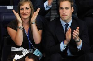 Quand le prince William rencontre des championnes de water polo de son pays... il est très fan !