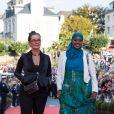 Mary Mcguckian, Ifrah Ahmed, film A girl from Mogadishu - Cérémonie de clôture du 30ème Festival du Film de Dinard. 28 septembre 2019 © Jéremy Melloul / Bestimage