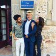 Antoine de Caunes et ses enfants, Instagram le 30 septembre 2019.