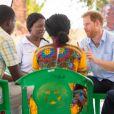 Le prince Harry, duc de Sussex, visite le centre de santé Mauwa de Blantyre, au Malawi, lors de la neuvième journée de la visite royale en Afrique. Blantyre, le 1er Octobre 2019.