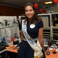 Vaimalama Chaves, Miss France 2019 à l'opération Charity Day chez Aurel BCG partners à Paris le 11 septembre 2019. © Veeren / Bestimage