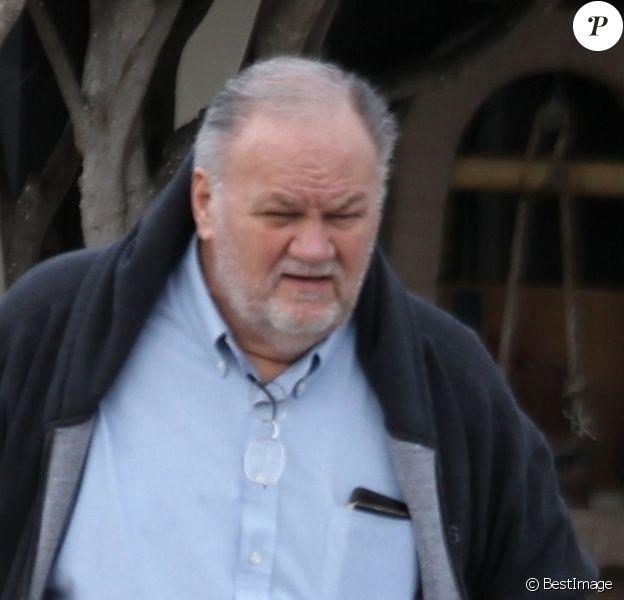 Exclusif - Thomas Markle, père de la duchesse Meghan de Sussex, à Rosarito au Mexique en février 2019.