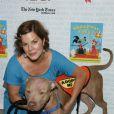 Marcia Gay Harden le 11 juillet 2009 lors de la 11e édition de ''Broadway Barks'' à New York qui lutte pour les animaux dans les refuges
