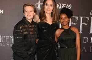 Angelina Jolie : Divinement maléfique à Rome avec ses filles Shiloh et Zahara