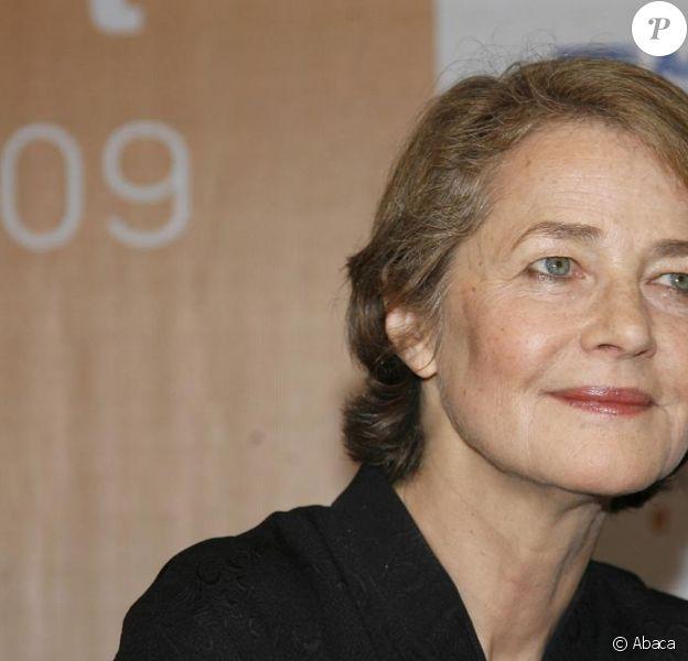 Charlotte Rampling au Festival de la fiction à Rome