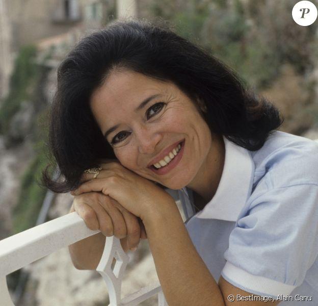 Marie-José Nat à Bonifacio, juillet 1987 © Alain Canu via Bestimage