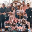 La famille des Marseillais presque au complet pour souhaiter la bienvenue à Ruby, sur Instagram le 7 octobre 2019.