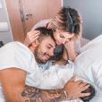 Carla Moreau et Kevin Guedj, parents, sur Instagram, le 6 octobre 2019.
