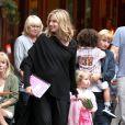 Heidi Klum et sa fille Leni samedi 11 juillet