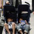 Heidi Klum et ses trois enfants trops mignons, à New York le 11 juillet