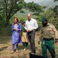 Le prince William et Catherine (Kate) Middleton visitent les collines de Margalla dans le cadre de leur visite officielle de cinq jours au Pakistan. Islamabad, le 15 octobre 2019.