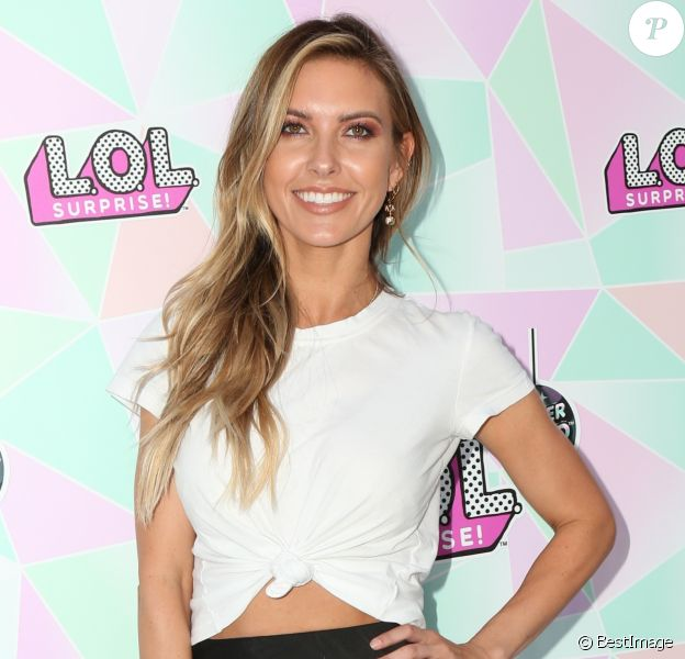 Audrina Patridge à la soirée Winter Disco à Los Angeles, le 27 septembre 2019