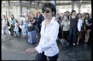 Rachida Dati accomplit la rentrée des classes à Strasbourg... avec beaucoup de ferveur et de bonne humeur !