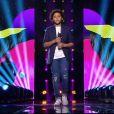 """Ghali, Talent de Patrick Fiori, lors de la demi-finale de """"The Voice Kids 2019"""", le 18 octobre, sur TF1"""