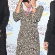 """Lily Allen au gala """"Champions for Change"""" à New York, le 17 octobre 2019."""