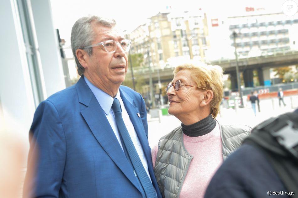 Patrick et Isabelle Balkany - Arrivées des époux Balkany au tribunal de Paris pour entendre la sentence concernant leur procès pour fraude fiscale le 13 septembre 2019.