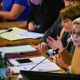 Isabelle Balkany, maire par intérim de Levallois, préside le conseil municipal - Conseil municipal de Levallois le 23 septembre 2019. © Federico Pestellini/Panoramic/Bestimage