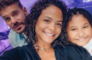 M. Pokora : Famille soudée avec Christina et Violet en coulisses à son concert