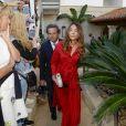 Guest - Les invités arrivent au mariage de Rafael Nadal et Xisca Perello à Majorque le 19 octobre 2019.