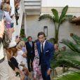 Feliciano Lopez - Les invités arrivent au mariage de Rafael Nadal et Xisca Perello à Majorque le 19 octobre 2019.