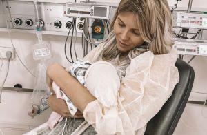 Jessica Thivenin maman : Son fils Maylone est sorti de l'hôpital, les photos !