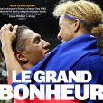 Estelle Mossely et Tony Yoka, tous les deux champions olympiques de boxe, en couverture de l'Equipe, le 22 août 2016.