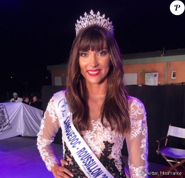 Lucie Caussanel, Miss Languedoc-Roussillon 2019, se présentera à l'élection Miss France 2020, le 14 décembre 2019.