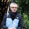 """Vincent Delerm - Arrivées des people pour l'enregistrement de l'émission """"Vivement dimanche"""" à Paris le 21 octobre 2019."""