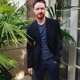 """James McAvoy à la conférence de presse de """"Split"""" à l'hôtel Four Seasons de Beverly Hills. Los Angeles, le 16 novembre 2016."""
