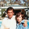 """Robert Evans et Roman Polanski pendant le tournage du film """"Chinatown"""" en 1974."""