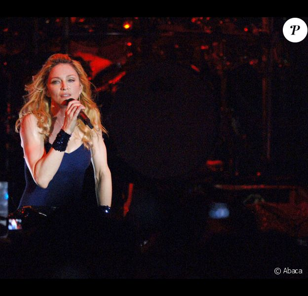 Madonna lors de ses concerts