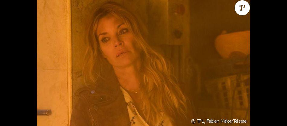 """Ingrid Chauvin sur le tournage de l'épisode de l'incendie, dans """"Demain nous appartient"""""""