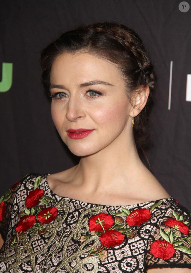 """Caterina Scorsone à la soirée """"PaleyFest: Grey's Anatomy"""" au Théâtre The Dolby à Hollywood, le 19 mars 2017 © CPA/Bestimage"""