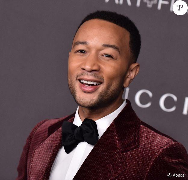 "John Legend au photocall de la soirée ""2019 LACMA Art + Film Gala"" au Los Angeles County Museum of Art. Los Angeles, le 2 novembre 2019. © O'Connor/AFF-USA.com"