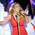 Mariah Carey à la 82e Cérémonie des Illuminations de Noël du Rockefeller Center. New York. Le 3 décembre 2014. @Bill Davila/Startraks/ABACAPRESS.COM