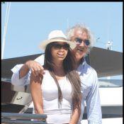 Flavio Briatore et sa magnifique Elisabetta Gregoraci se la coulent douce... à Saint-Tropez !