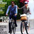 """Laeticia Hallyday et Pascal Balland en couverture de """"Paris Match"""" le 7 novembre 2019."""