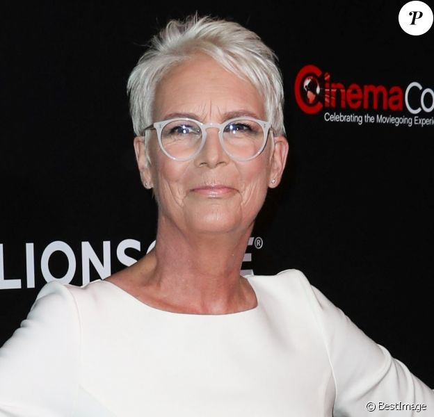 Jamie Lee Curtis à la projection de Long Shot lors du CinemaCon 2019 au Caesars Palace à Las Vegas, le 4 avril 2019.