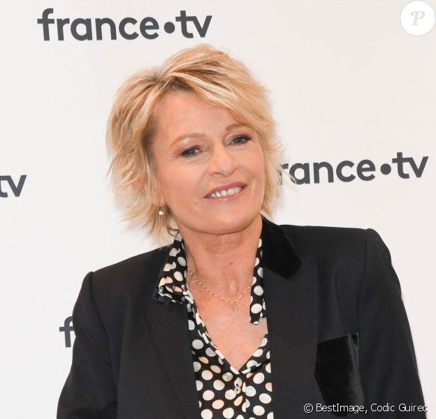 Sophie Davant - Conférence de presse du Téléthon 2019 dans les locaux de France Télévision à Paris le 4 novembre 2019. © Codic Guirec/bestimage
