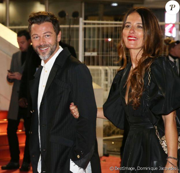 Christophe Maé et sa femme Nadège Sarron - 21e édition des NRJ Music Awards au Palais des festivals à Cannes le 9 novembre 2019. © Dominique Jacovides/Bestimage