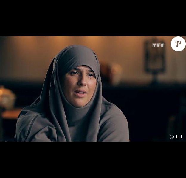 """Diam's, en interview et voilée dans"""" Sept à Huit"""" sur TF1 le 30 septembre 2012"""