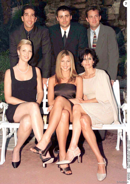 Les acteurs de Friends au Beverly Hills Hotel le 26 septembre 1997.